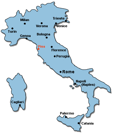 Italy's main cities